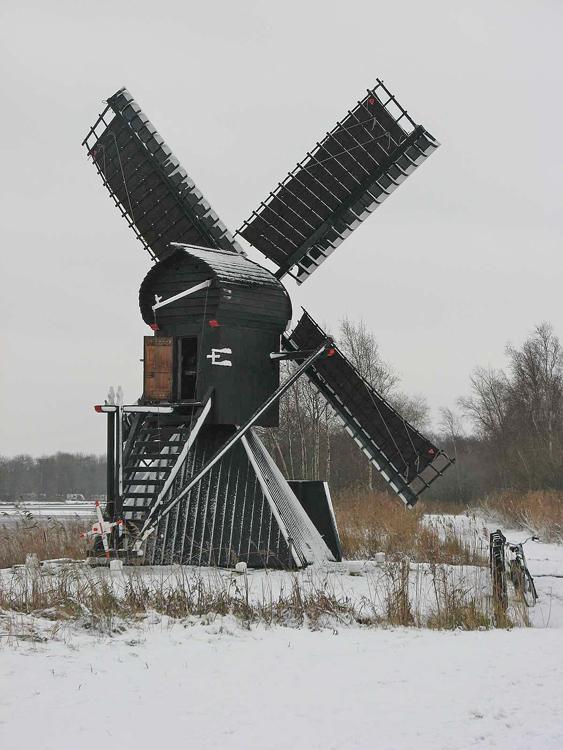 De Himriksmole /<br> De Groene Ster, Tytsjerk (Tietjerk), Foto: Jacob Bijlstra (7-12-2012).