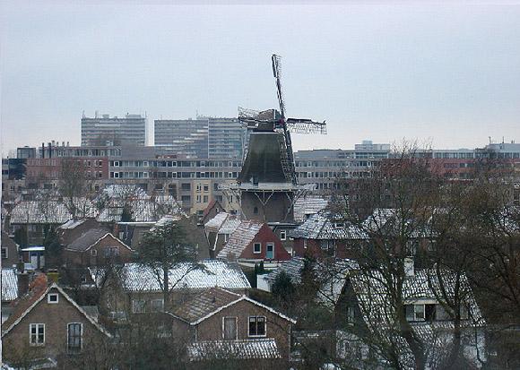 Welgelegen / Tjepkema's molen, Heerenveen, Foto: Jesse Molenkamp (winter 2003)