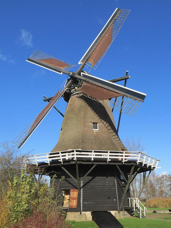 Sweachmermolen, Langweer, Foto: Theun Vellinga (9-11-2013).