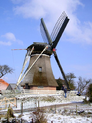 (grondzeiler), Makkum, Foto: Kees Vanger (11-3-2006).