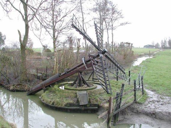 (paaltjasker), Wergea (Warga), Foto: Bram Molenaar (25-01-2004).