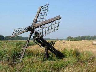 (paaltjasker), De Hoeve, Foto: Willem Jans (9-8-2003).
