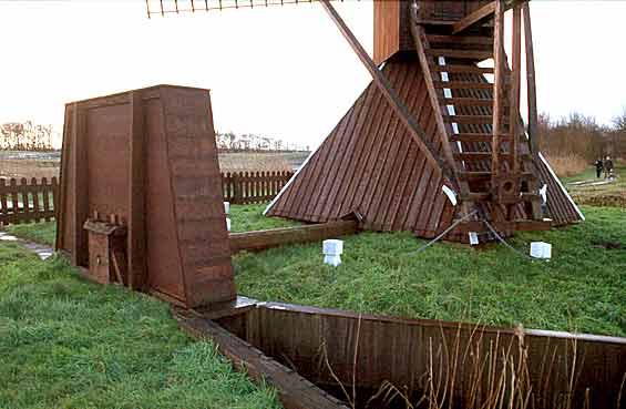 De Himriksmole /<br> De Groene Ster, Tytsjerk (Tietjerk), Foto: Willem Jans (25-12-2001).
