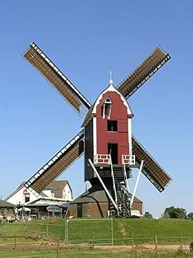 Tot Voordeel & Genoegen, Alphen aan de Maas, Foto: Willem Jans (16-7-2006). | Database Nederlandse molens