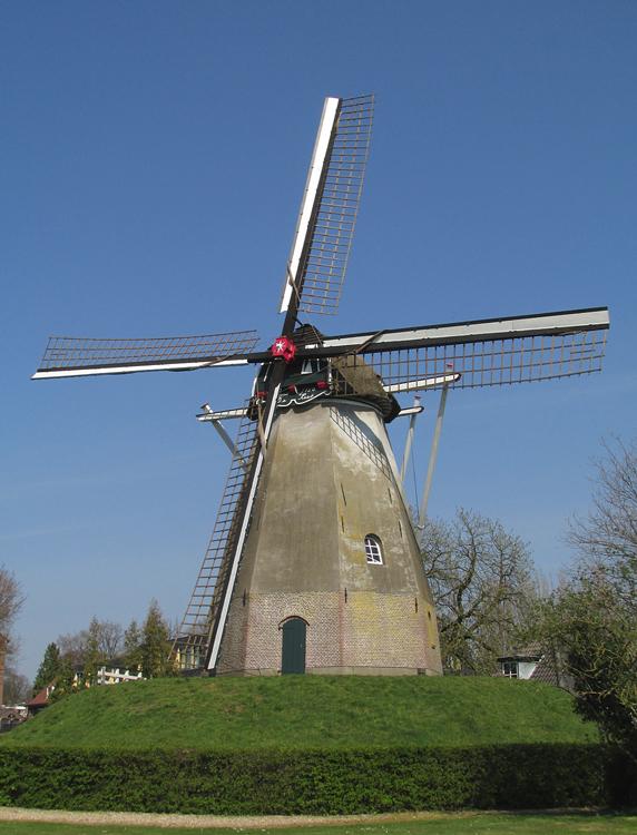 De Keetmolen, Ede, Foto: Piet Glasbergen (28-3-2014).