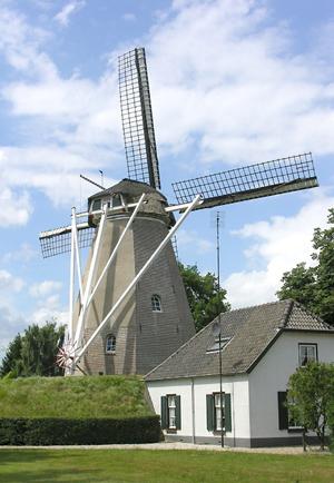 De Keetmolen, Ede, Foto: Donald Vandenbulcke (19-7-2005).