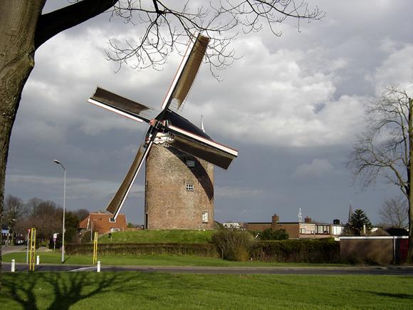 De Buitenmolen, Zevenaar, Foto: Eric Bosch (8-3-2007).