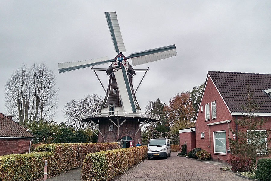 Harkstede, Molen Stel's Meulen | Nederlandse Molendatabase