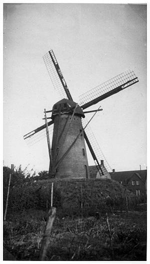 Aalstermolen, Aalst, Nog een oude opname uit de verzameling van Ton Meesters (foto: ?).