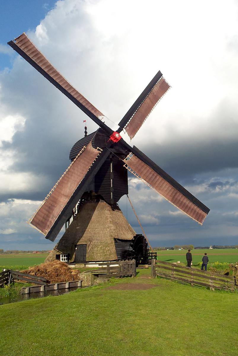 Uitwijkse Molen, Sleeuwijk, Foto: Theo de Rooij (22-4-2012).