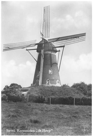 De Hoop, Bavel, De Hoop omstreeks 1950. Prentbriefkaart uitgegeven door A. Jansen-Kin.  Foto: verzameling Ton Meesters.