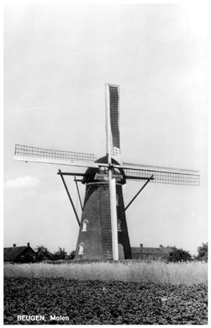 Martinus, Beugen, Foto: ? (verzameling Ton Meesters).  Foto uit de vijftiger jaren.