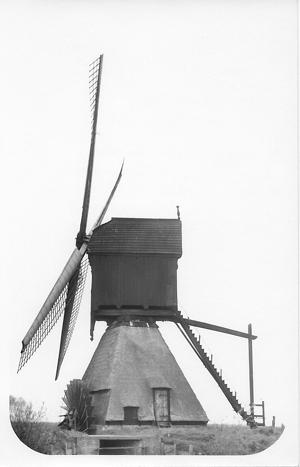 Noordenveldse Molen / Nieuwe Molen, Dussen, Foto: ? (verzameling Ton Meesters).