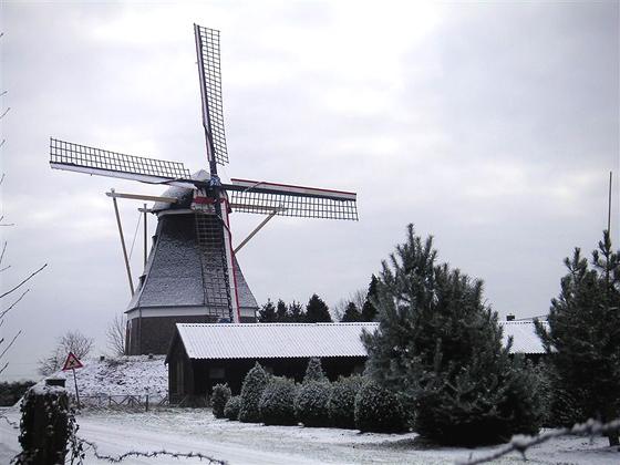 Mariamolen, Haps, Foto: Marc Crins (25-1-2005).