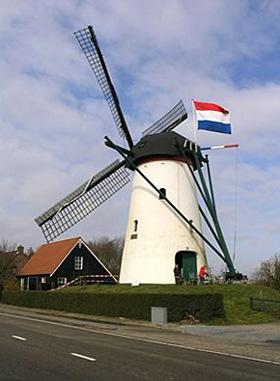 De Vos / Heense Molen, Heensche Molen, Foto: Willem Jans (26-3-2006).
