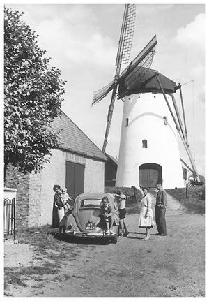 De Vos / Heense Molen, Heensche Molen, Foto: 1959 (verzameling Ton Meesters).