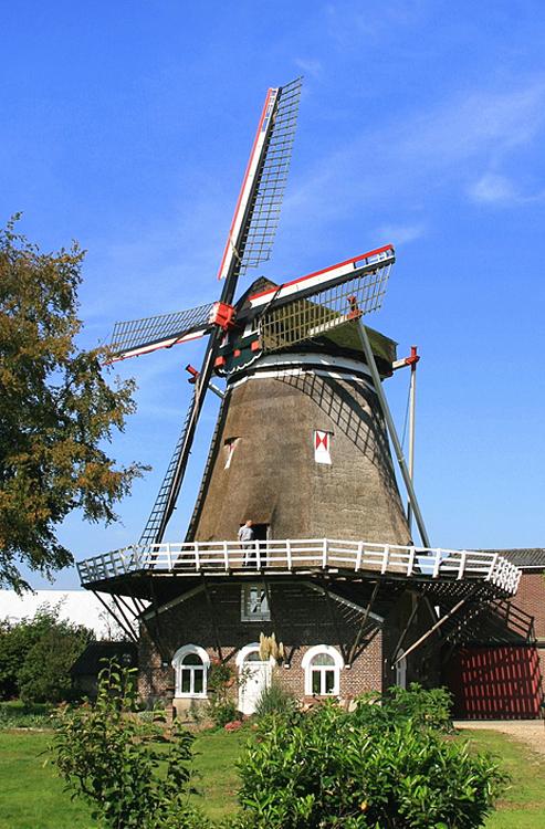 (stellingmolen), Katwijk-Linden, Foto: John Scholte (29-9-2011).