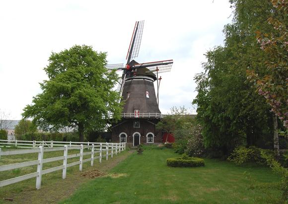 (stellingmolen), Katwijk-Linden, Foto: Rob Pols (2-5-2008).