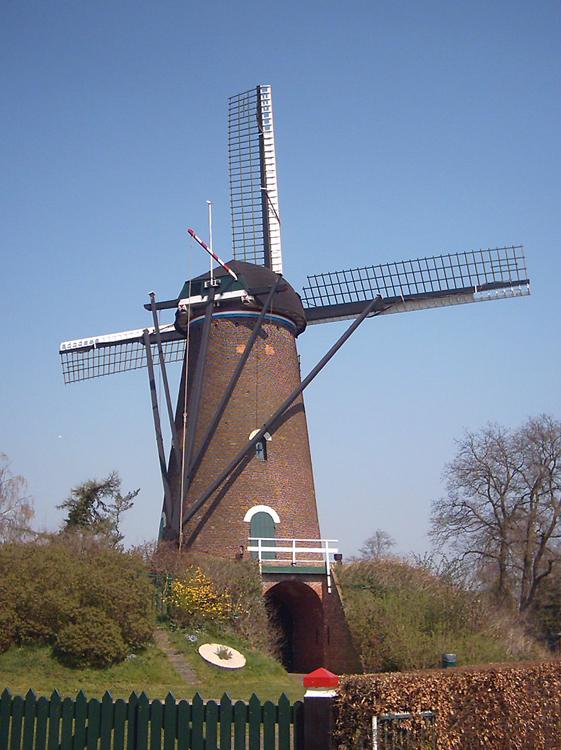 De Twee Vrienden, Nieuw-Borgvliet, Foto: Rob Simons (6-4-2006).