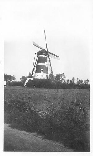 De Roosdonck, Nuenen, De Roosdonck rond 1945.  Foto: ? (verzameling Ton Meesters).