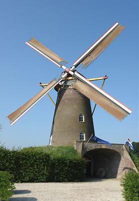 De Vooruitgang, Oeffelt, Foto: Frits Kruishaar (30-7-2008).