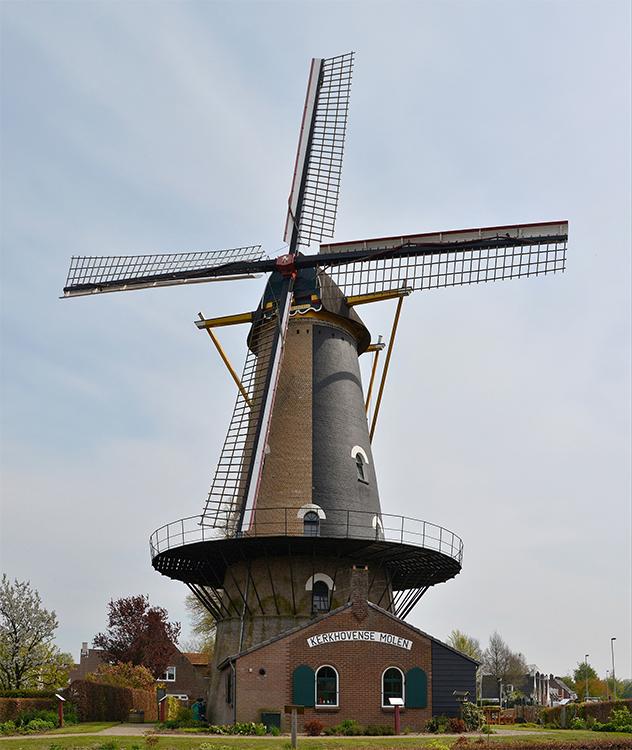 Onvermoeid / Kerkhovense Molen, Oisterwijk, Foto: Roelof Kluijtmans (2-5-2016)