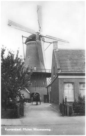 De Twee Gebroeders, Roosendaal, Opname uit 1945. Foto: verzameling Ton Meesters.