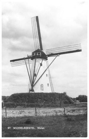 De Genenberg, St. Michielsgestel, Foto: 1962 (verzameling Ton Meesters).  N.B.: let u even op de omgeving!