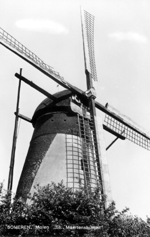 De Victor, Someren, De Victor in 1972.  Foto: n.b. (verzameling Ton Meesters).
