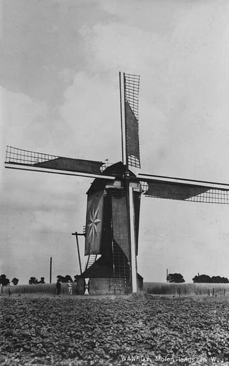 De Ster / De Hamse Molen , Wanroij, Foto n.n., ca. 1940 (ingezonden door Arie Hoek).