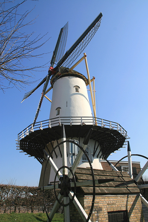 D'Orangemolen, Willemstad, Foto: John Scholte (21-3-2011).