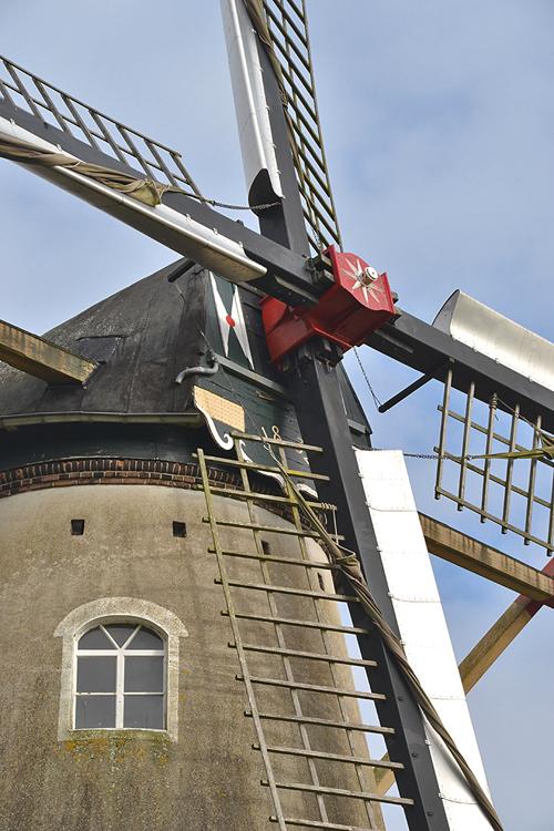 Aarssensmolen / De Dageraad, Zeeland, Foto: Rob Pols (23-10-2014).
