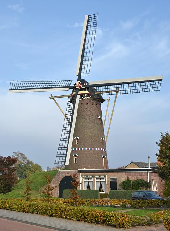 Zilster Molen, Veldhoven-Zeelst, Foto: Rob Pols (24-10-2012).