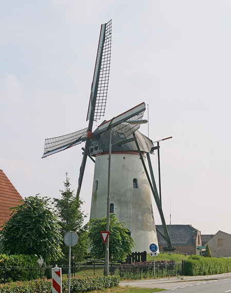 De Vos / Heense Molen, Heensche Molen, Foto: Ton Koorevaar (7-7-2011).