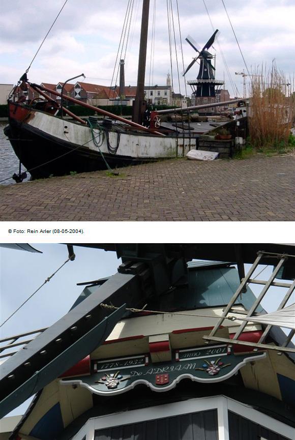 De Adriaan, Haarlem, Foto: Frits Kruishaar (1-8-2009).