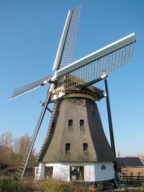De Zwarte Ruiter, Aalsmeer, Foto: Piet Glasbergen (5-5-13)
