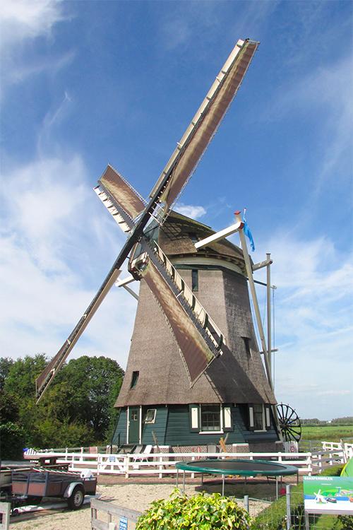 Gemeenschapsmolen, Driemond, Foto: Piet Glasbergen (10-9-2016)