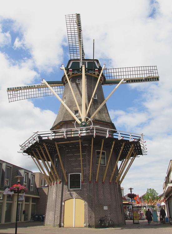 De Leeuw, Aalsmeer, Foto: Piet Glasbergen (14-6-2014).