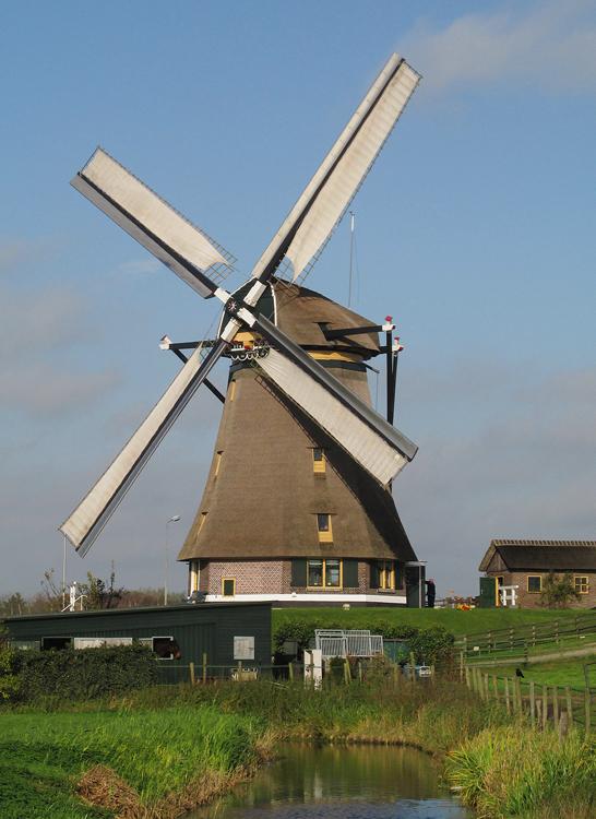 Stommeermolen, Aalsmeer, Foto: Piet Glasbergen (8-11-2014).