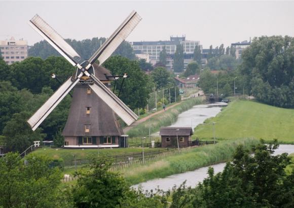 Stommeermolen, Aalsmeer, Foto: Michiel Hooijberg (7-6-2012)