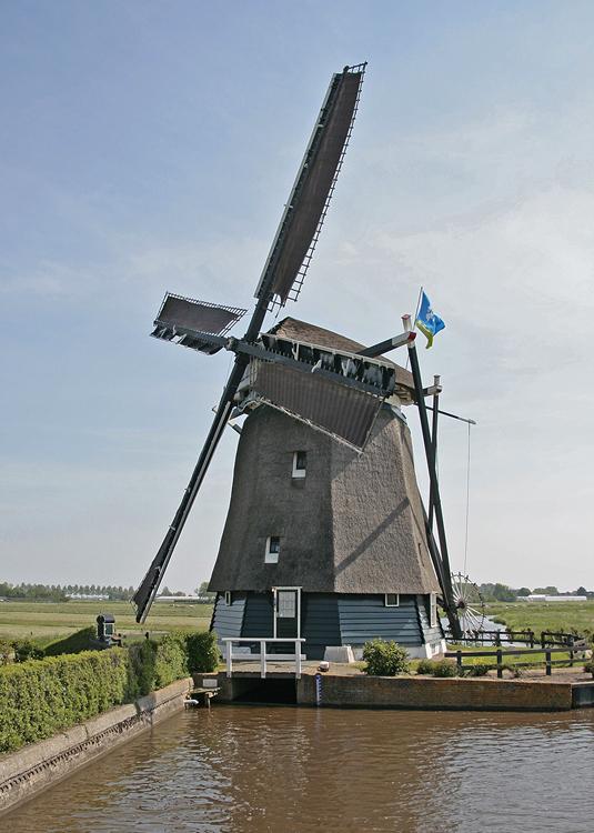 Noordermolen, Akersloot, Foto: Ton Koorevaar (6-6-2013).
