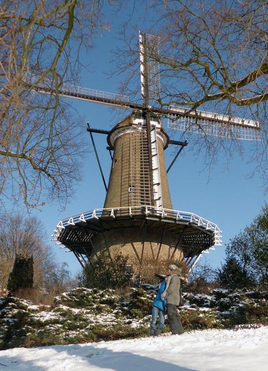De Groot / Molen van Piet, Alkmaar, Foto: Julius Meijer (4-2-2012).