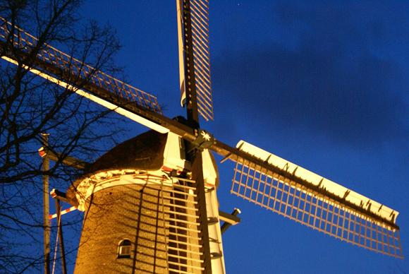 De Groot / Molen van Piet, Alkmaar, Foto: M.J. de Ru (22-4-2008).