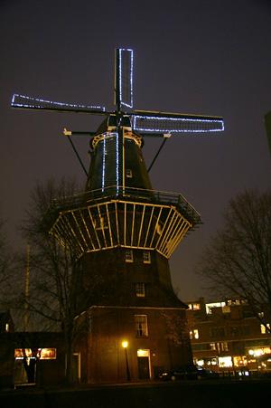 De Gooyer, Amsterdam, Foto: Willem Sterenberg (11-11-2005).