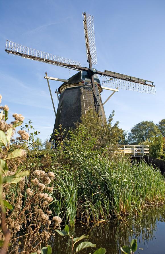 De Riekermolen, Amsterdam-Buitenveldert, Foto: BB (14-10-2007).
