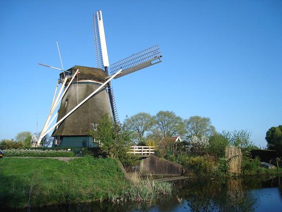 De Riekermolen, Amsterdam-Buitenveldert, Foto: Martijn Scholtens (15-4-2007).
