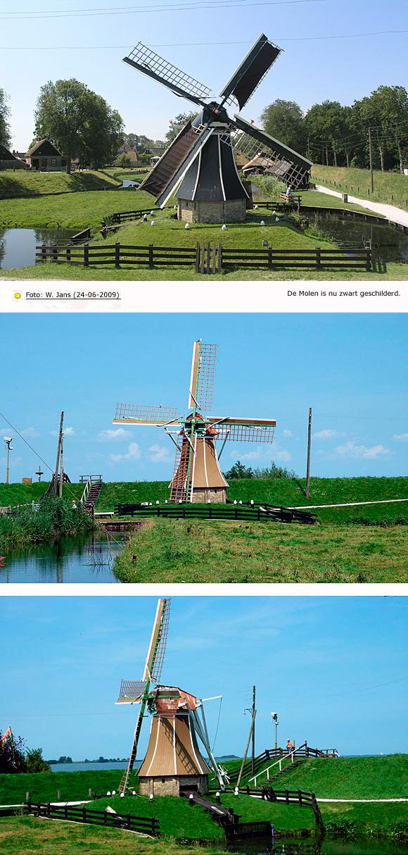 Vogelhoeksmolen, Enkhuizen , Foto's: Eddy Blenke (31-7-2008).