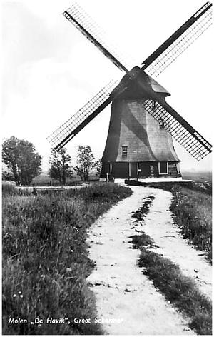 De Havik, Grootschermer, Foto: ? (verzameling Rob Pols).