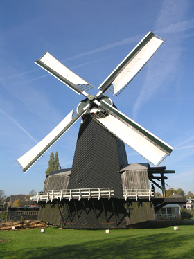 De Eenhoorn, Haarlem-Schalkwijk, Foto: Willem Jans (14-10-2007).