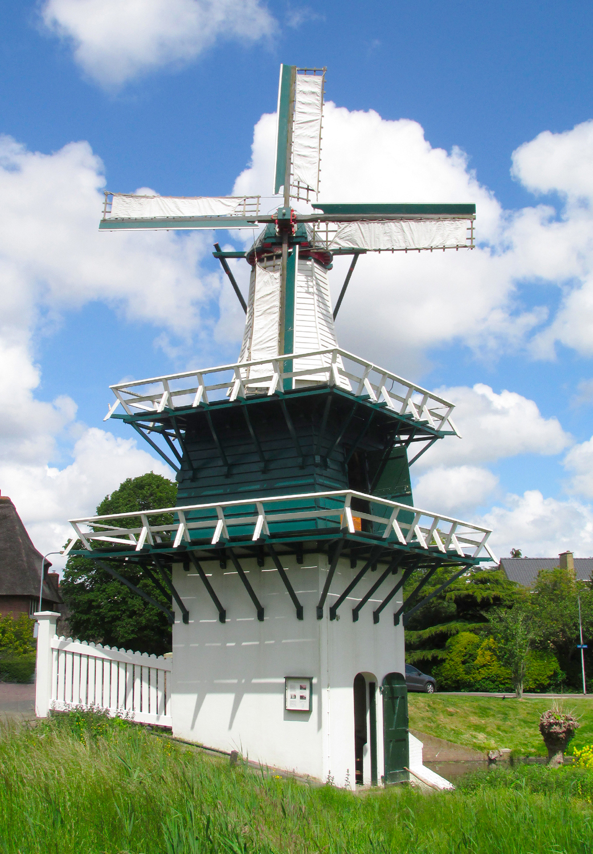 Groenendaalse Molen, Heemstede, Foto: Piet Glasbergen (30-5-2015)